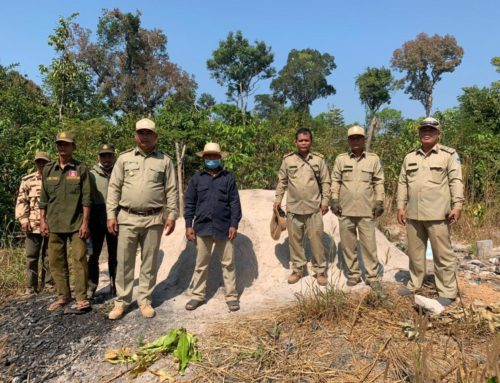 Collaboration Between the Project and Sandan District on Law Enforcement Activities