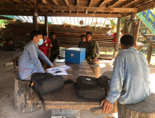 Latest Management of Microfinance Grant Supported by Tumring REDD+ Project
